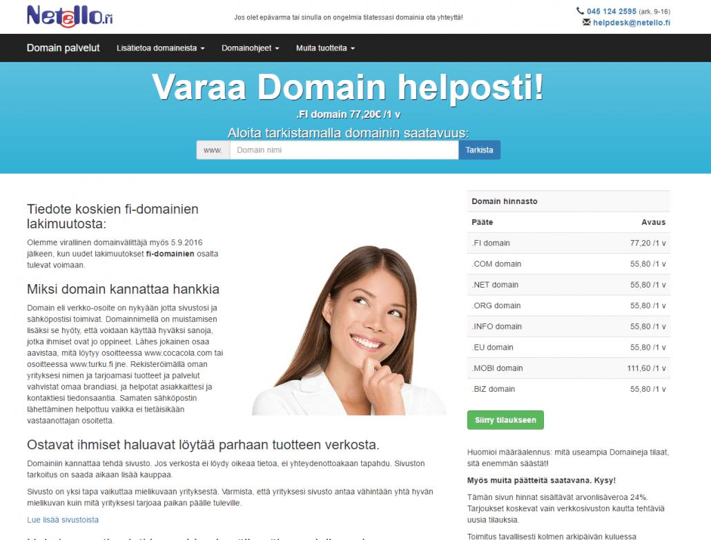 Netello domainpalvelut