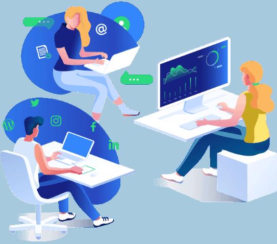 Sosiaalisen median työkalu