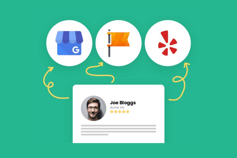 Google My Business arvostelut