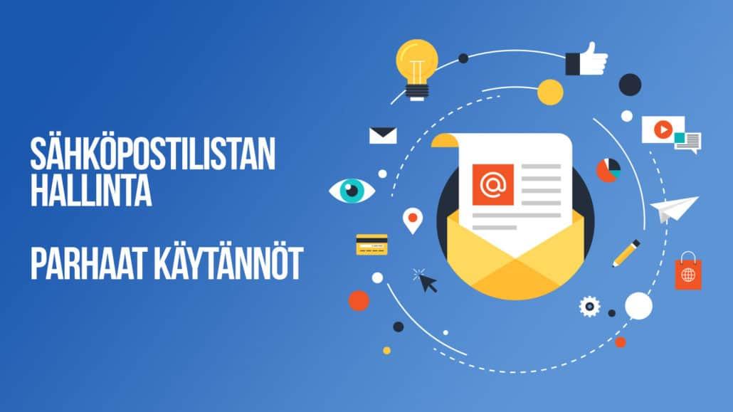Sähköpostilistan hallinta