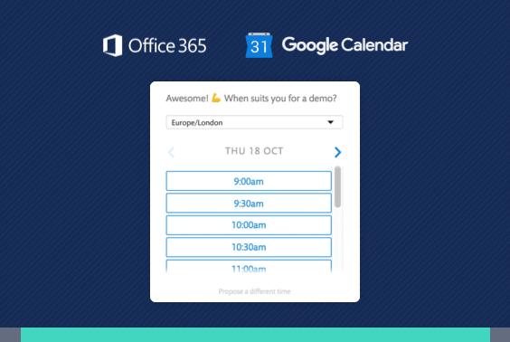 Chatbot voi varata ajan kalenterista