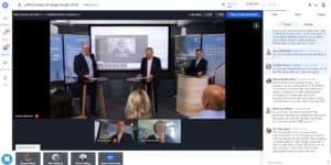 Virtuaalitapahtuman kokoustilat